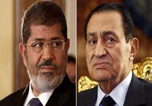 مرسی و مبارک در دادگاه رو در رو میشوند