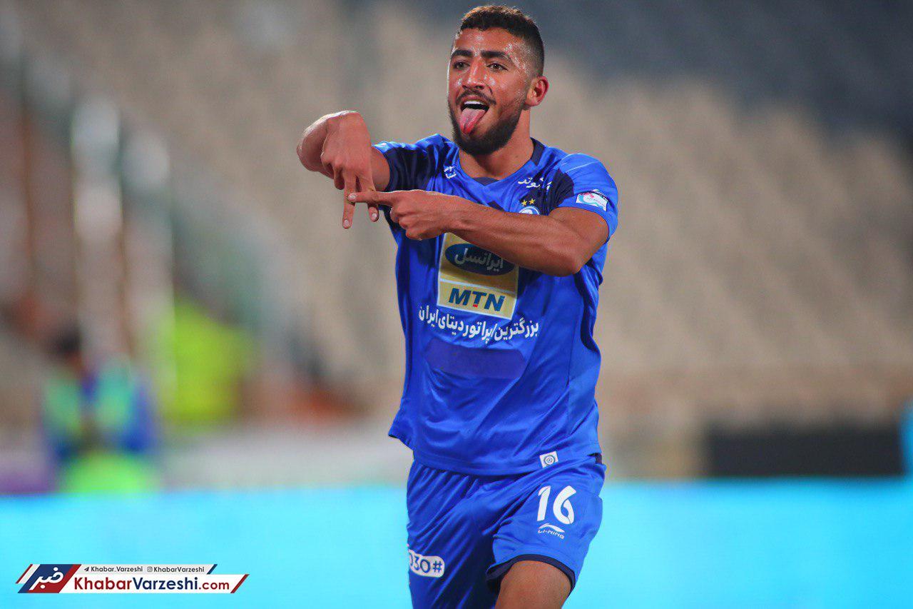 شادی پس از گل فوتبالیست مشهور ایرانی جنجال به پا کرد! +عکس