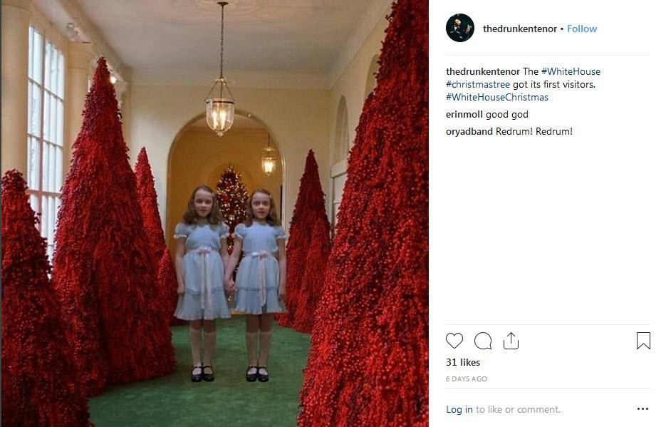 واکنش کاربران به سلیقه ملانیا ترامپ برای کریسمس+فیلم و عکس