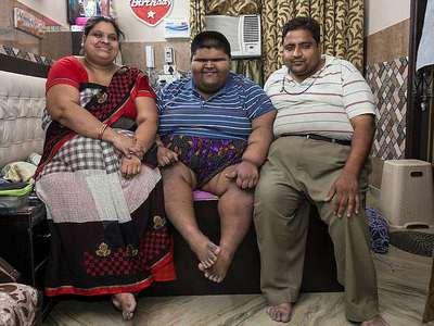 چاق ترین پسر بچه دنیا زیر تیغ جراحی رفت+تصاویر