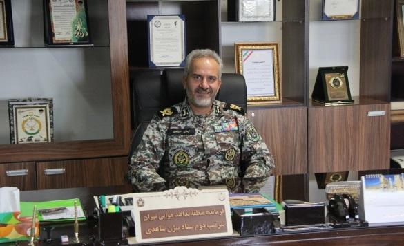 امیر ساعدی فرمانده دانشگاه پدافند هوایی ارتش شد