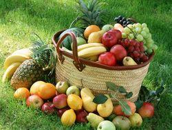 خواص میوه جات بر اساس رنگ آنها+اینفوگرافی