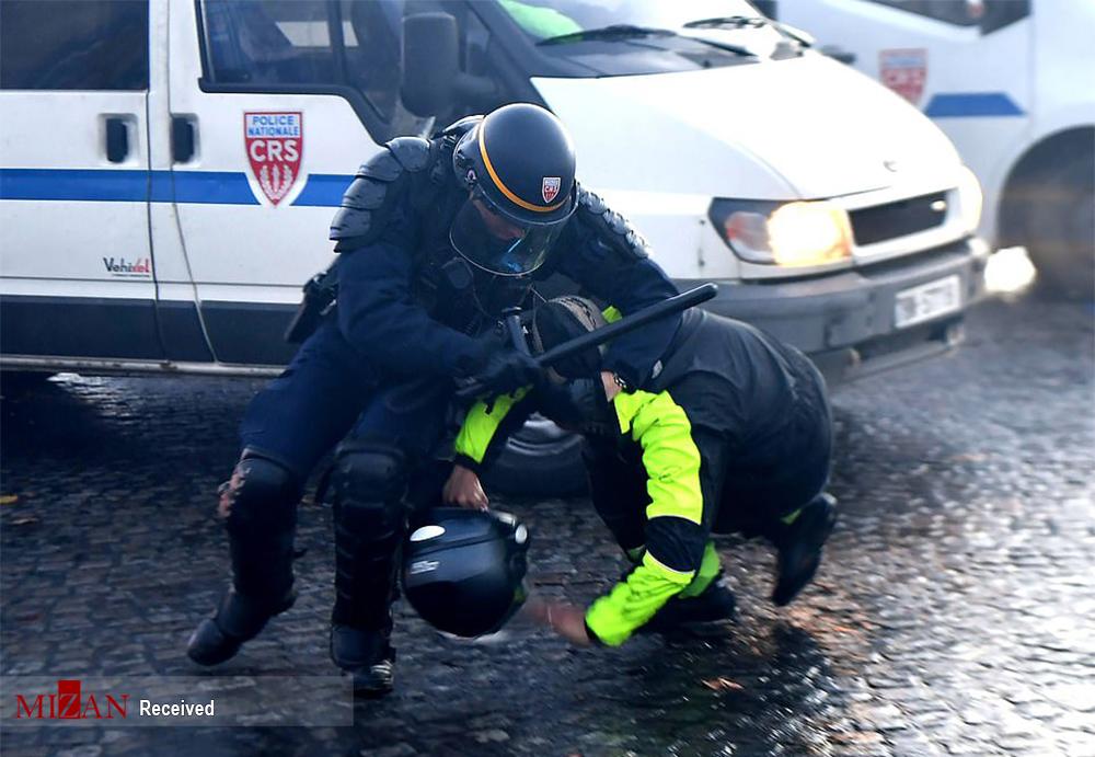 کارگزار رسانهای آشوب در ایران، حامی خشونت پلیس فرانسه /اگر یک دهم اتفاقات فرانسه در ایران رخ میداد، واکنش رسانههای ضدانقلاب چه بود؟+فیلم و تصاویر