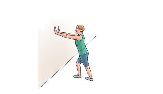 ورزشهای مناسب برای درمان گرفتگی عضلات پا+ تصاویر