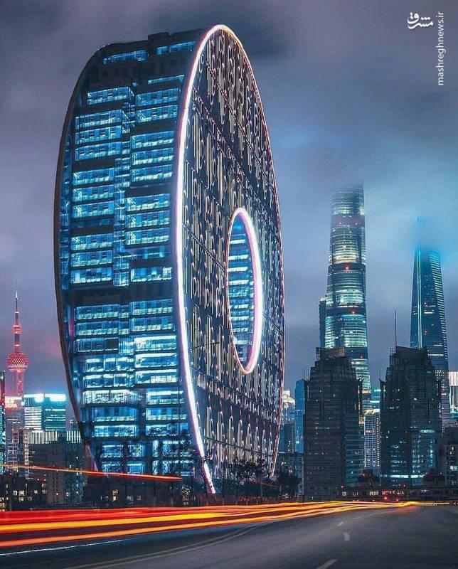 معماری شگفت انگیز یک ساختمان در چین