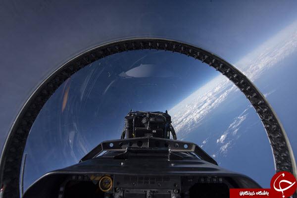 تصویری دیدنی از کاکپیت فضاپیما