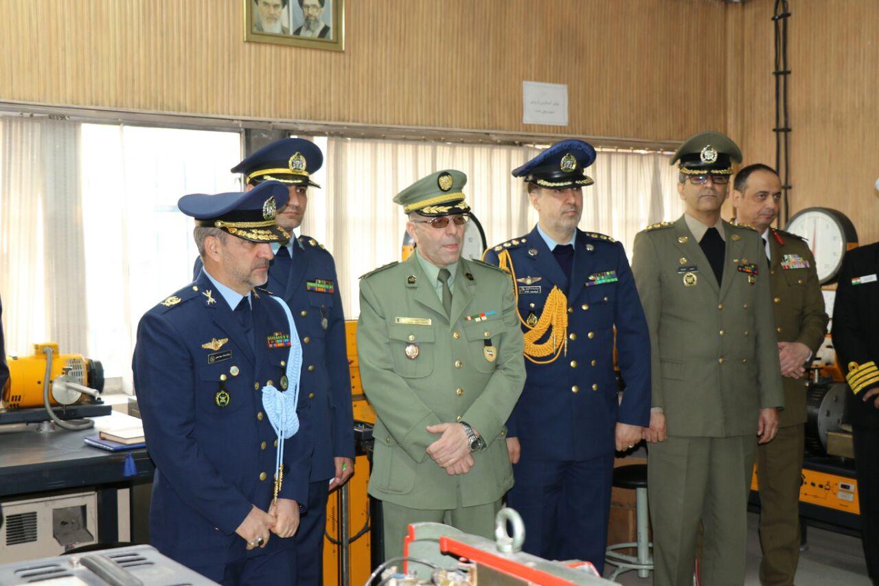 بازدید وابستگان نظامی کشورهای خارجی از دانشگاه هوایی شهید ستاری