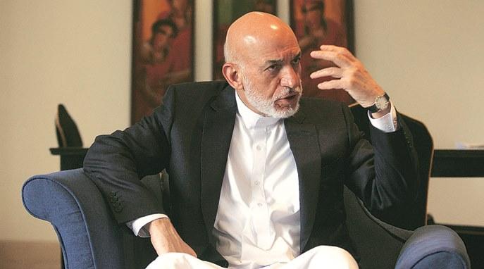 کرزی: آمریکا به حملات هوایی در افغانستان پایان دهد/ دولت هیات ملی برای صلح تعیین کند
