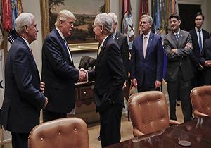 ترامپ به دنبال راضی کردن سناتورهای منتقد بن سلمان +فیلم