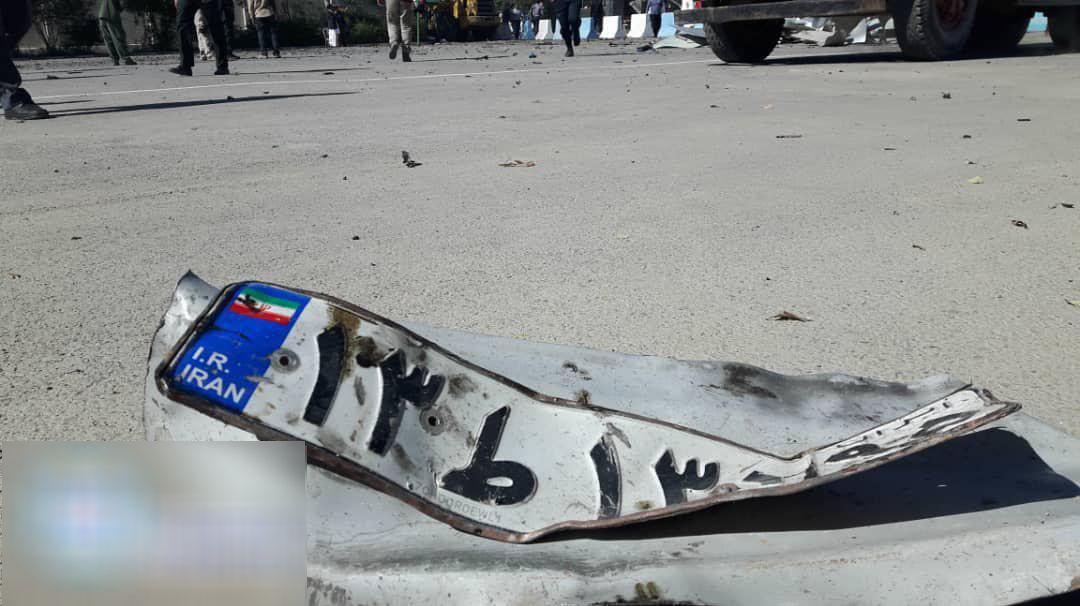 تصاویری از محل وقوع حادثه تروریستی چابهار