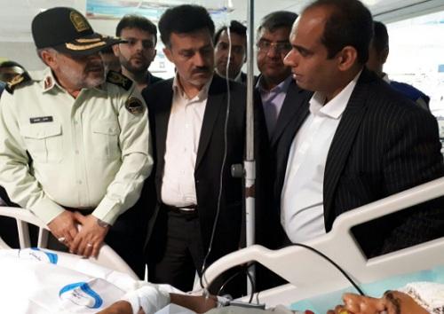 حادثه تروریستی در شهرستان چابهار/برخورد شدید در انتظار عوامل تروریستی+ اسامی شهدا/فیلم و تصاویر