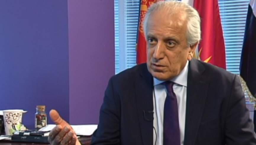 زلمی خلیلزاد پس از دیدار با مقامات افغانستان به مسکو رفت