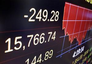 کاهش شدید ارزش شاخص سهام بورس پاریس