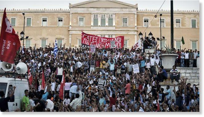 تظاهرات در یونان در سالگرد کشته شدن یک نوجوان به دست پلیس