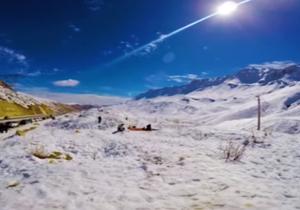 تایم لپسی جذاب از زیباییهای پیست اسکی کاکان + فیلم