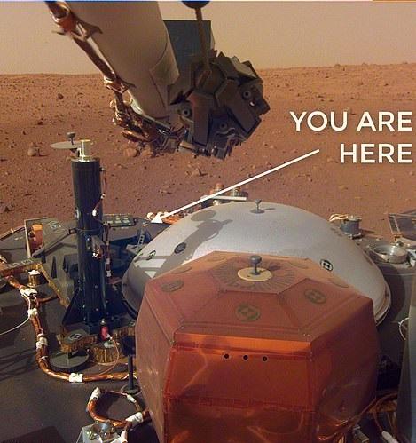 ///// ////////مریخ نورد اینسایت اسامی دومیلیون انسان را با خود به مریخ برد