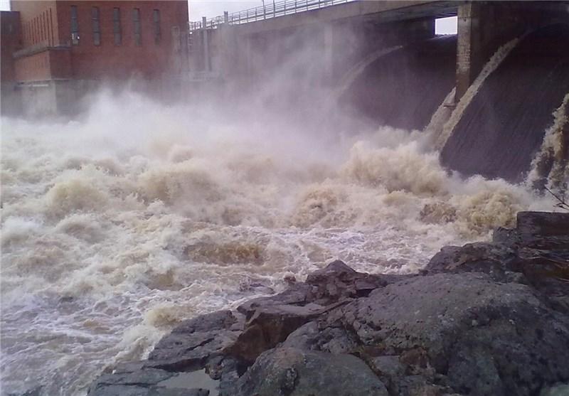 سیلاب 5000 متر مکعبی کارون در سد گتوند آرام گرفت