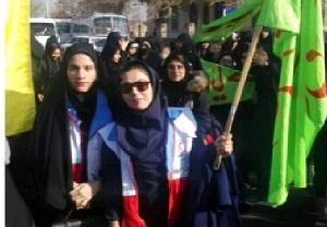 تجدید بیعت دانشجویان استان مرکزی با آرمانهای امام راحل درخمین