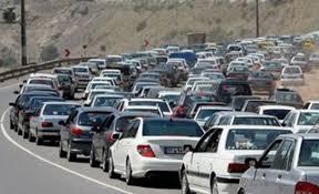 ترافیک سنگین در ۲ محور استان فارس/رانندگان با سرعت مطمئنه حرکت کنند