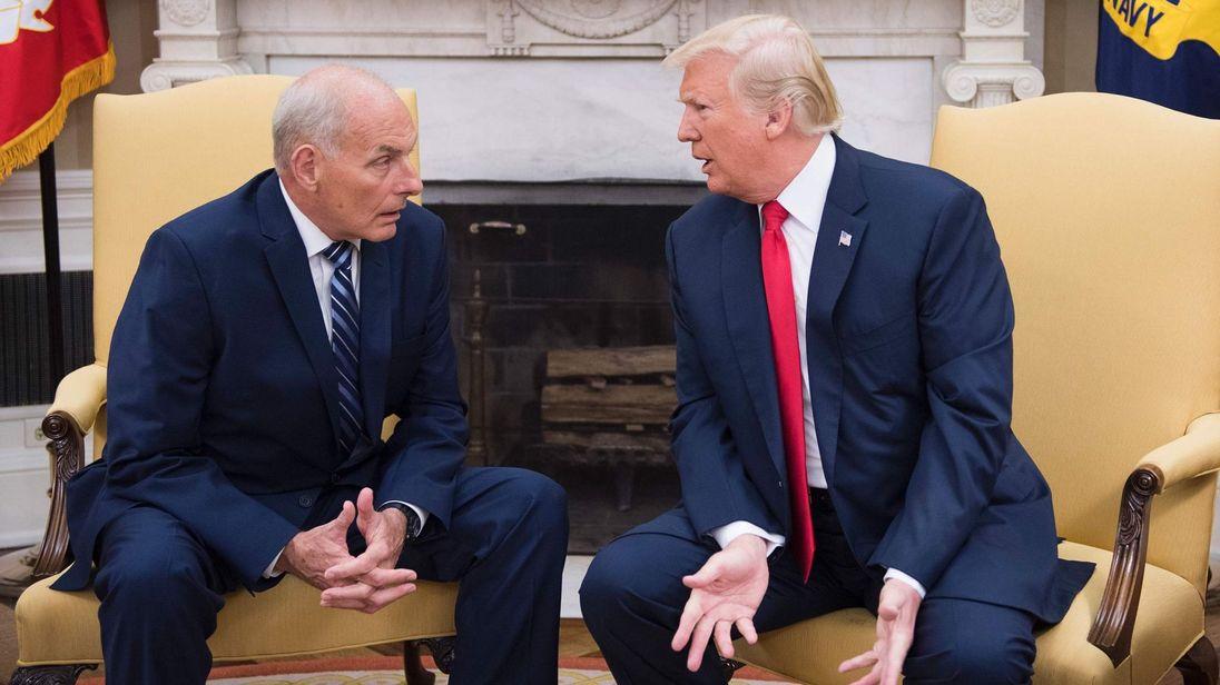 احتمال برکناری رییس کارکنان کاخ سفید در روزهای آینده