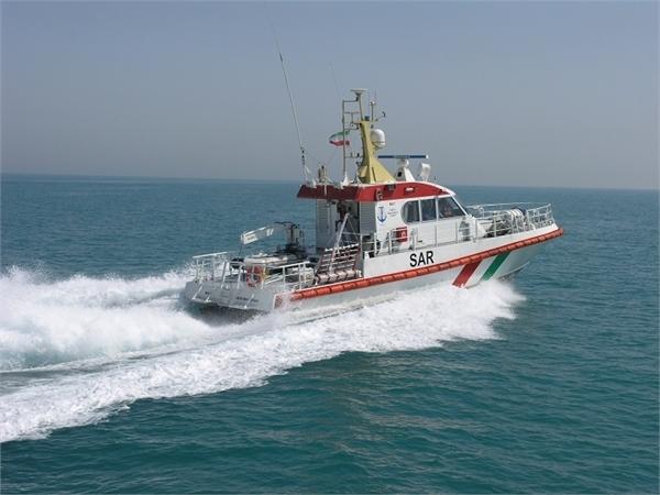 ۶ خدمه موتور لنج باری از غرق شدن نجات یافتند