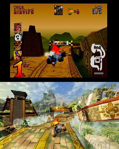 نسخه ریمستر بازی خاطره انگیز کراش رالی سرانجام معرفی شد +ویدئو و تصاویر