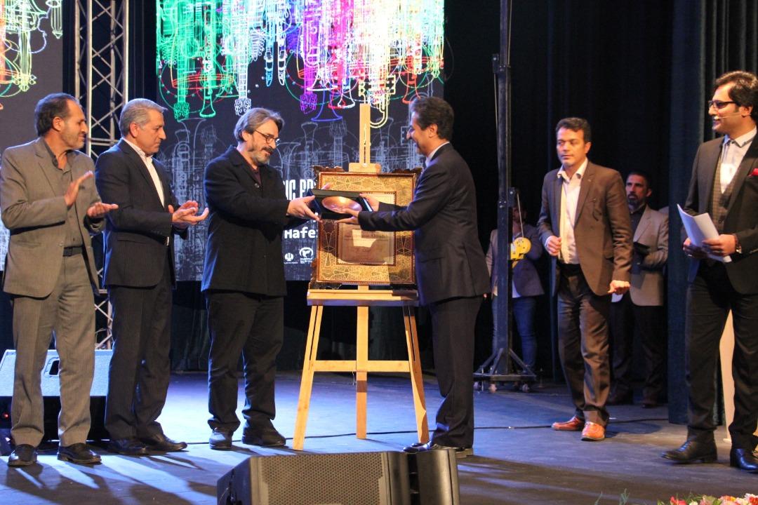 آیین پایانی جشنواره موسیقی فارس برگزار شد/اعطای شهروندی افتخاری