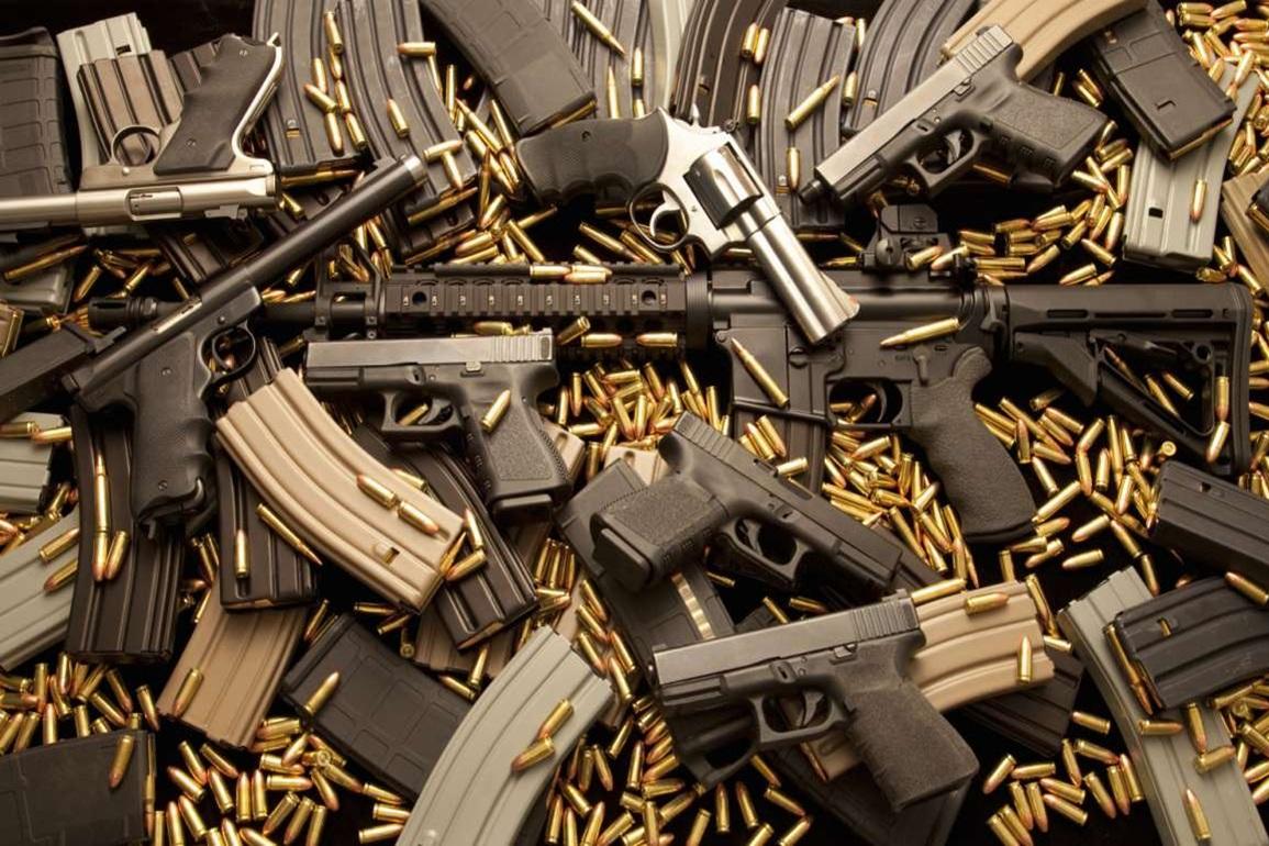 توقیف بیش از ۲ هزار سلاح غیرقانونی در استان هاینان چین