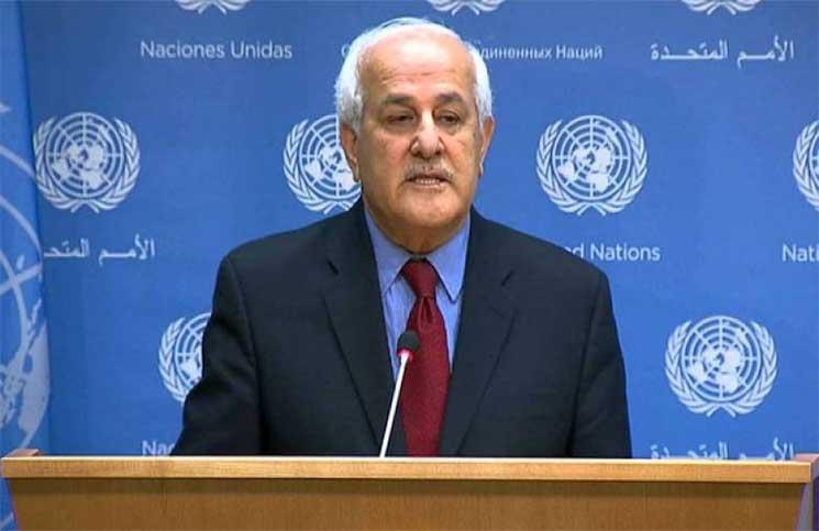 ریاض منصور: نباید اجازه دهیم اهداف قطعنامه خبیث آمریکا محقق شود