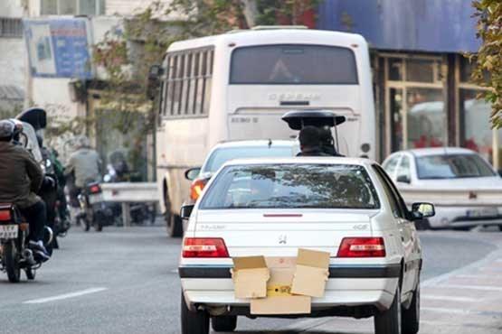 اجرای طرح «طاهر» در پایتخت/ برخورد پلیس با خودروهای پلاک مخدوش