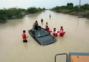 امدادرسانی به بیش از یک هزار نفر در ۷ استان متأثر از سیل