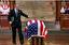 باشگاه خبرنگاران - حاشیههای مراسم تشییع بوشِ پدر؛ از گریه جرج بوش تا چُرت زدن بیل کلینتون!+فیلم و عکس