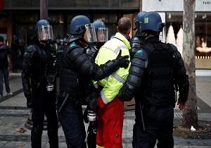 اعتصاب اتحادیه کارگری پلیس فرانسه در حمایت از جلیقه زردها