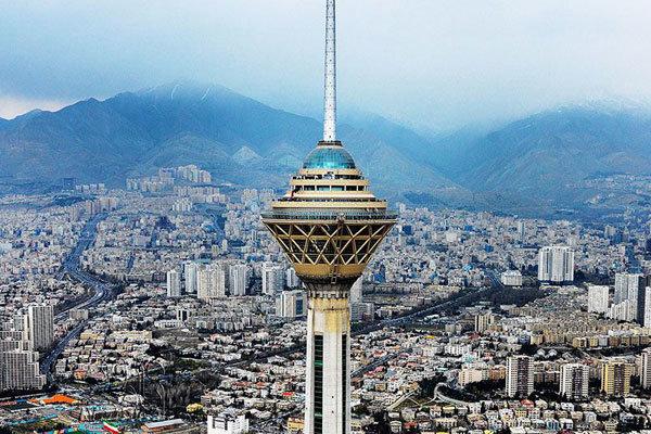 هوای تهران در نخستین روز هفته پاک است