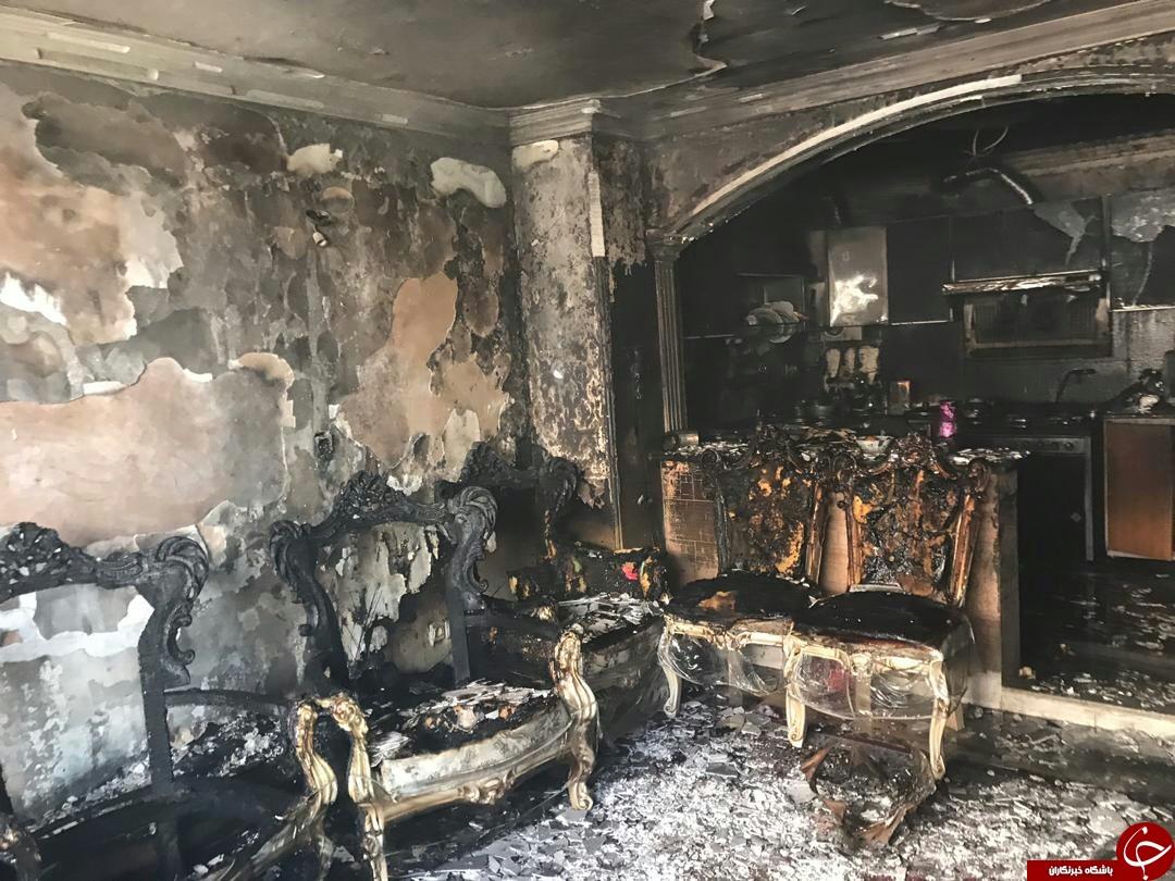 آتش سوزی یک منزل مسکونی در شیراز/حادثه مصدومی در برنداشت