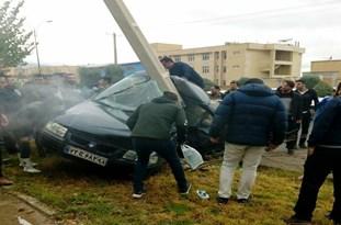 تصادف مرگبار در بلوار دانشجو شهر ایلام