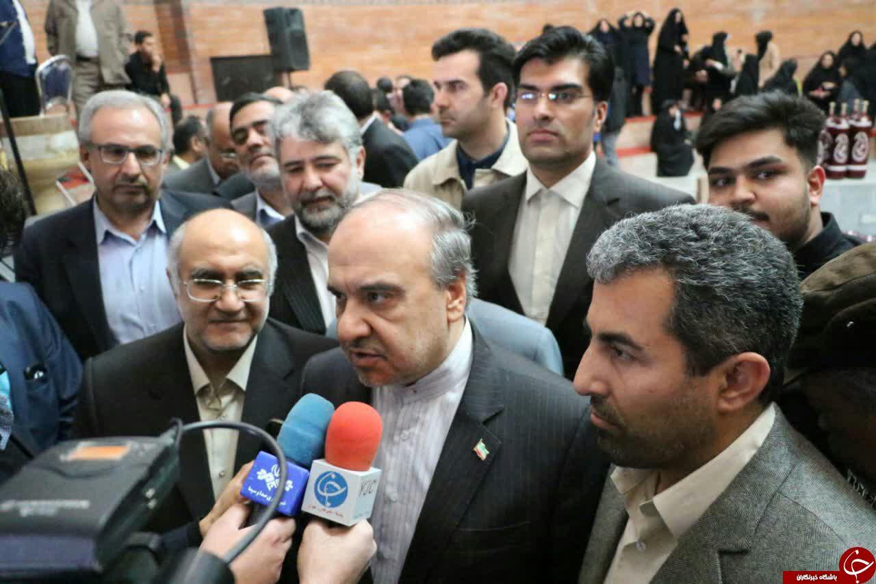 پیست دوچرخه سواری و زورخانه کرمان افتتاح شد