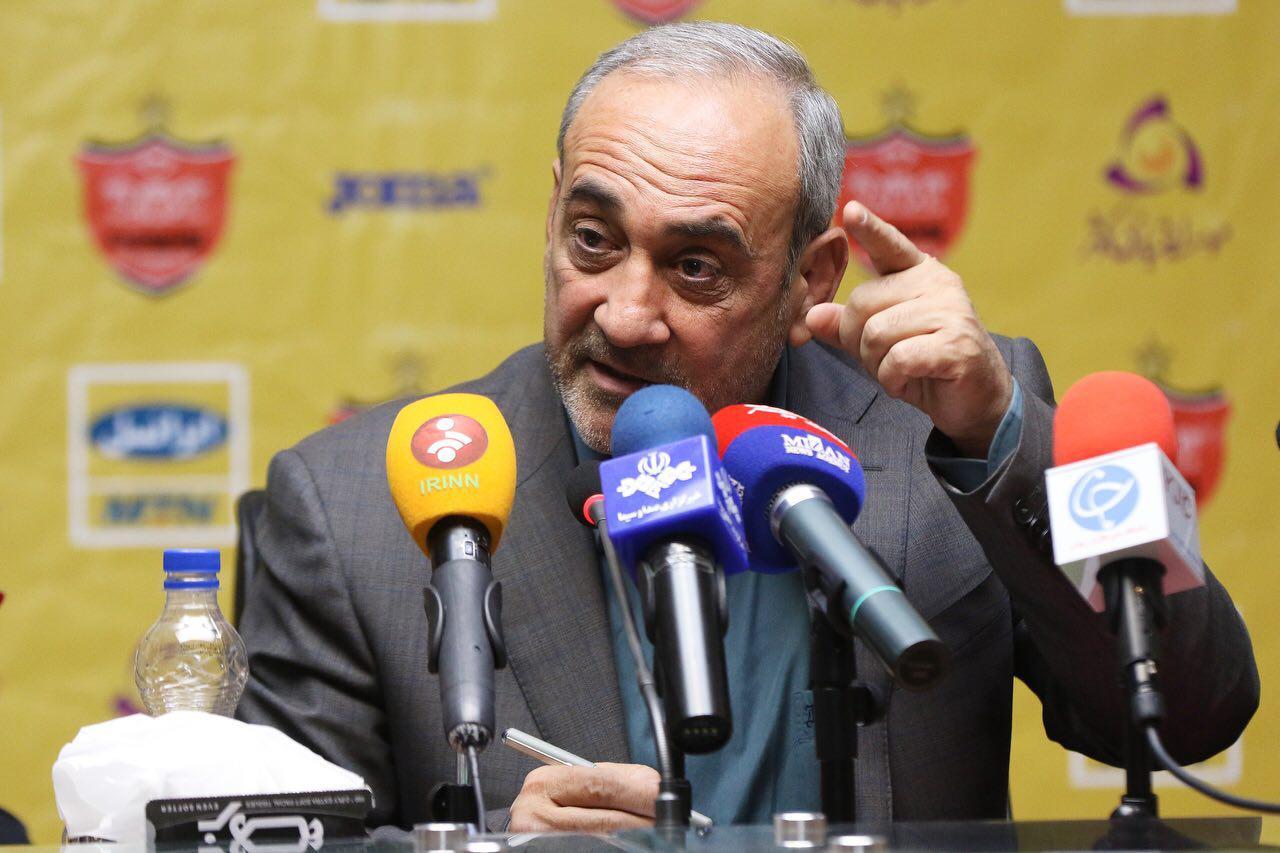 مدیر عاملی گرشاسبی در باشگاه پرسپولیس به پایان رسید