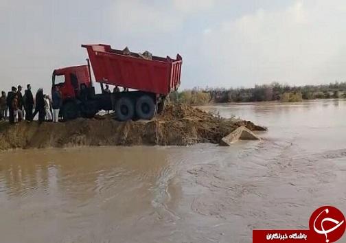 کنترل سیلاب رودخانه جراحی در شادگان