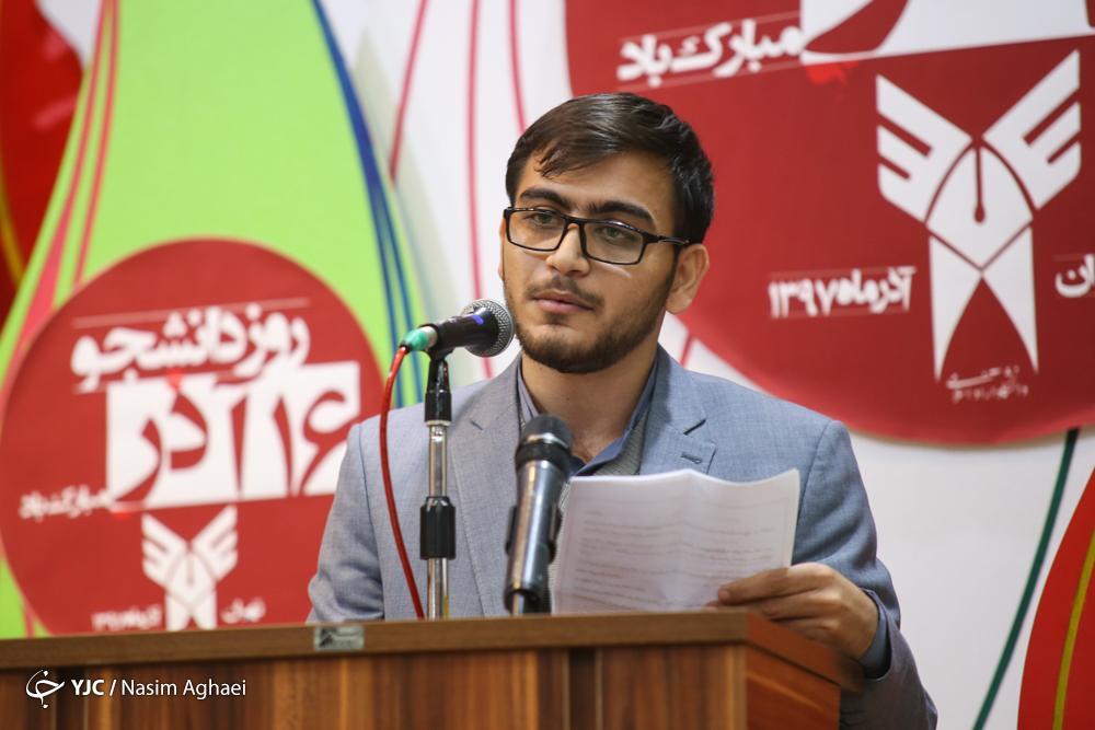 درد و دلهای نمایندگان دانشجویان دانشگاه آزاد با طهرانچی در روز دانشجو