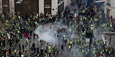 تدابیر شدید امنیتی در شنبه سیاه پاریس + فیلم