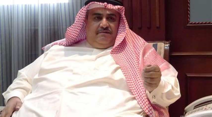 حمایت بیشرمانه وزیر خارجه بحرین از رژیم صهیونیستی!