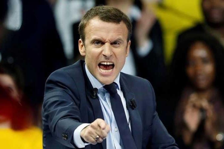 دفاع مکرون از خشونت پلیس فرانسه