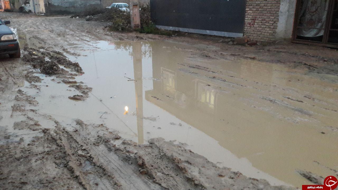 وضعیت نامناسب معابر در «پارسآباد»  + تصاویر