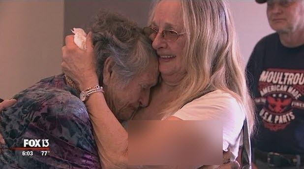 مادری که پس از 69 سال دخترش را پیدا کرد+فیلم