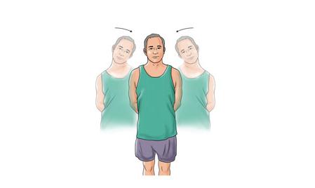 ورزشهای مناسب برای درمان درد گردن+ تصاویر