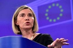 موگرینی: اتحادیه اروپا بزودی سازوکاری را برای دور زدن تحریمهای ایران ایجاد میکند