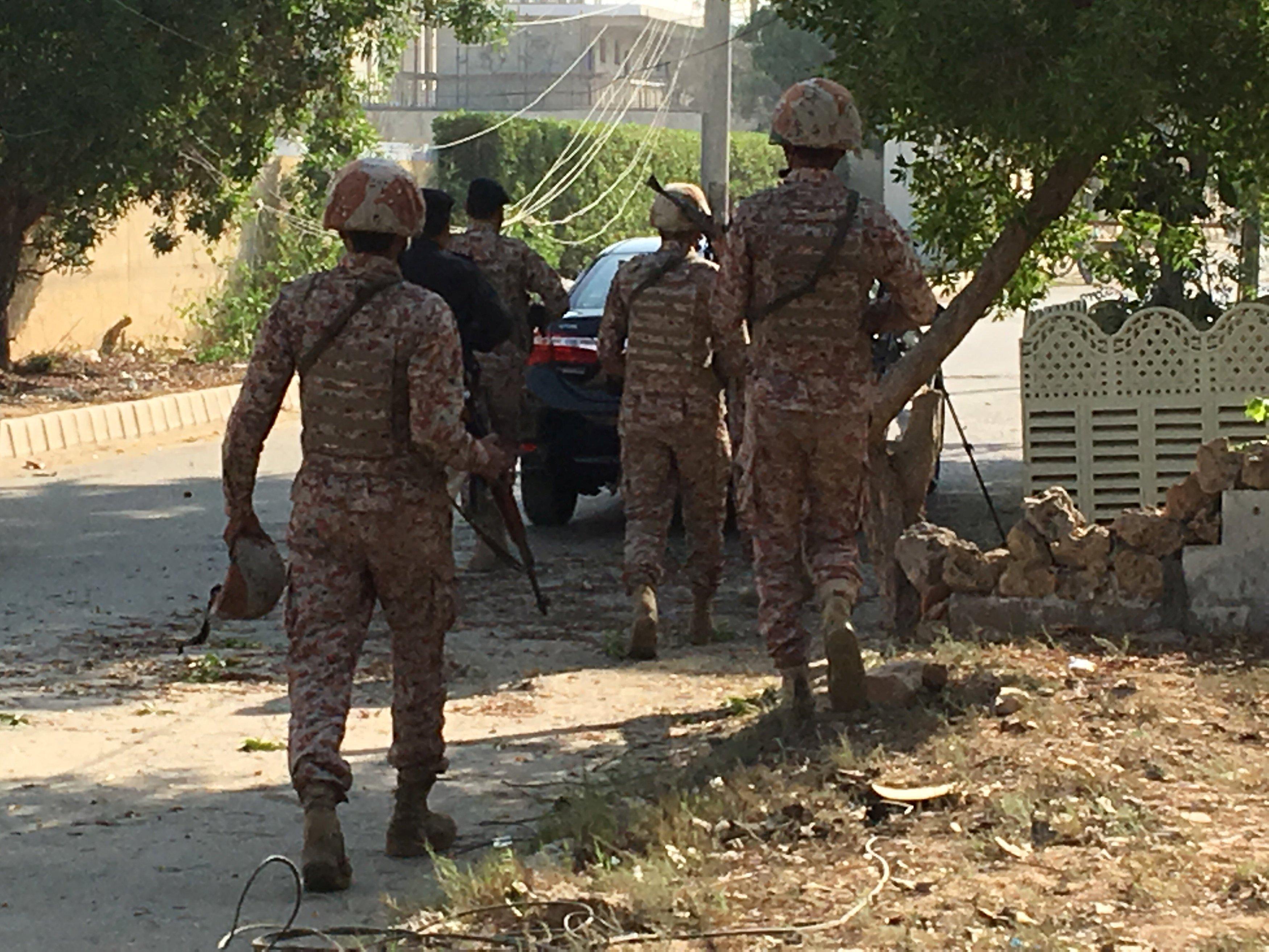 حمله مسلحانه به کنسولگری چین در کراچی
