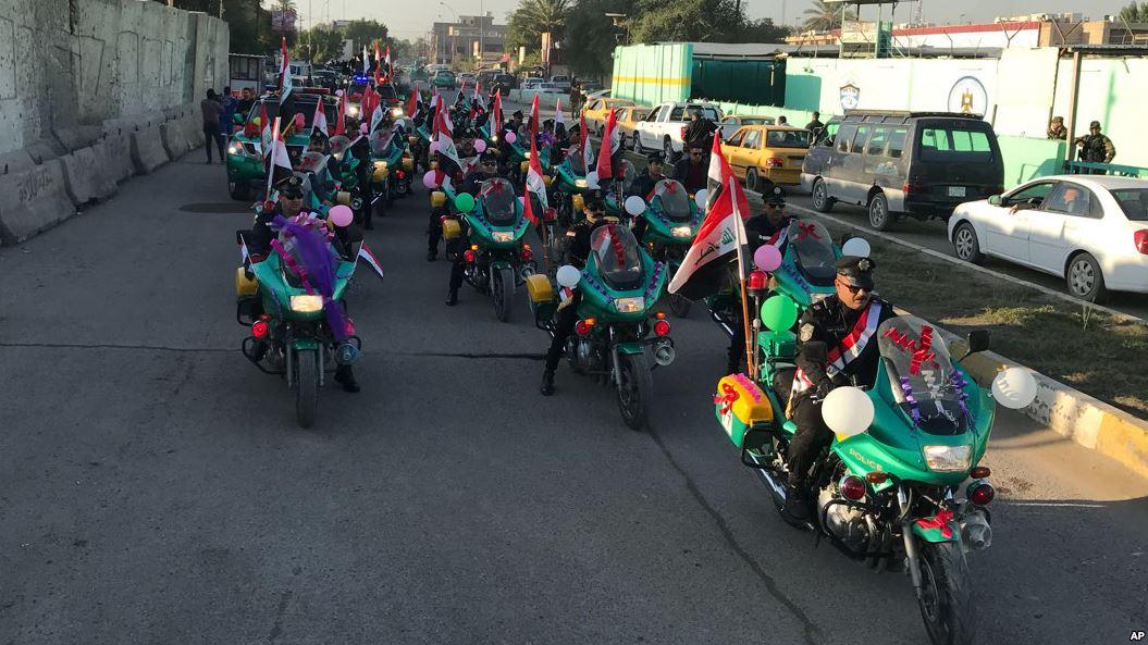 شکست داعش یک ساله شد/ تصاویر جشن «یوم النصر» در عراق