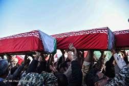 باشگاه خبرنگاران - ورود پیکر ۷۲ شهید تازه تفحص شده به کشور- شلمچه